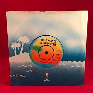 BOB-MARLEY-amp-THE-WAILERS-Exodus-1977-UK-7-034-vinyl-Single-EXCELLENT-CONDITION
