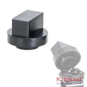 1-x-Wagenheber-Adapter-Gummi-Auflage-fuer-Mercedes-Gummiklotz-Jack-Pad-Hebebuehne