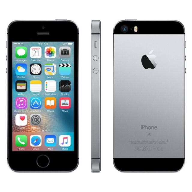Neu Apple iPhone SE 128GB spacegrey Ohne Simlock Ohne Vertrag LTE OVP