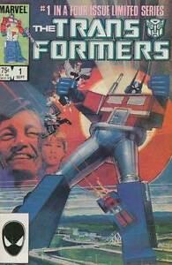 TRANSFORMERS #1 FINE MARVEL COMICS (1st SERIES 1984)