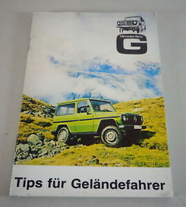 Conseils-pour-Gelandefaher-Mercedes-W460-Modele-G-240-GD-300-230-280-Ge-de-1981