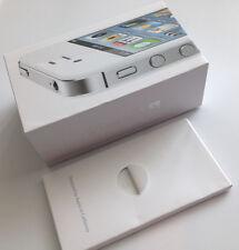 EMPTY Box Apple iPhone 4S 16GB White  Box For Storage (no device)