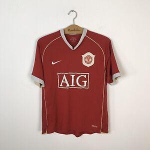 Manchester United Calcio Casa Maglietta 2006/2007 Maglia Calcio Nike da uomo taglia M