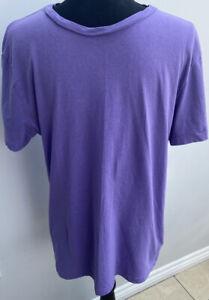 Tee-shirt-homme-taille-M-violet-h-amp-m-lt-MM1071