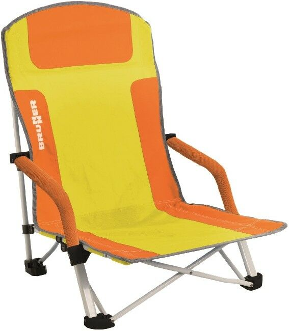 Camping Brunner Stuhl Faltstuhl Campingstuhl Strandstuhl BULA orange   yellow