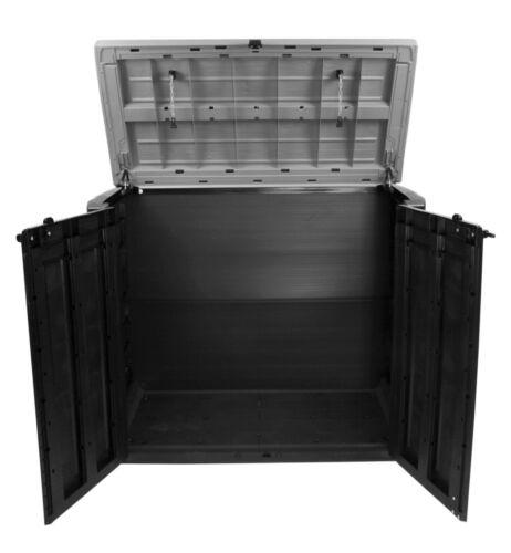 Ondis24 Keter Gerätebox Aufbewahrungsbox Mülltonnenbox Gartenbox Schuppen MAX