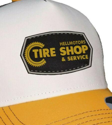 Tire Boutique Rétro Trucker Mesh Cap v8 Motard Old School Hotrod ROCKABILLY Clé à chocs