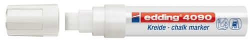 4-15 mm weiß edding 4090 Kreidemarker
