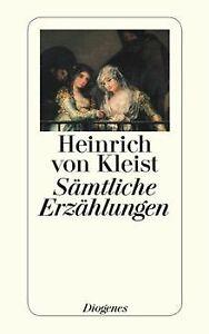 Saemtliche-Erzaehlungen-von-Kleist-Heinrich-von-Buch-Zustand-gut