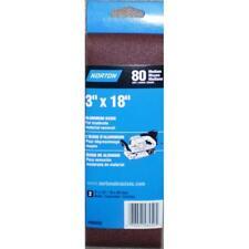 Craftsman 3 x 18 inch Medium 80 Grit Belt 2 Pack