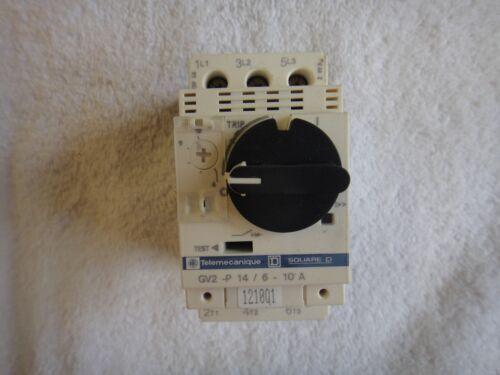 Telemecanique Manual Motor Starter 6-10A   GV2-P14//6-10A