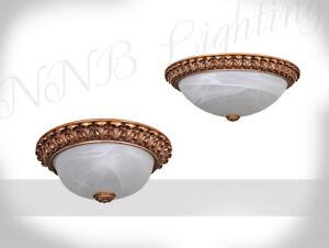 Lampada-da-Soffitto-Luce-Alabastro-Vetro-Oro-Bianco-a-Sospensione-Incluso-Led