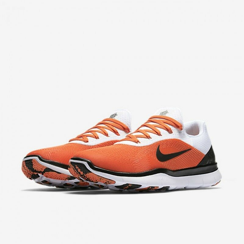 NIKE OKLAHOMA STATE COWBOYS FREE TRAINER V7 WEEK ZERO SHOES MENS 14 AA0881 804