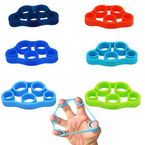 3 Levels Finger Stretcher Hand Extensor Exerciser Trainer Grip Resistance Bands