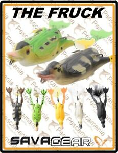 Savage-Gear-3D-Hollow-Body-Duckling-034-THE-FRUCK-034-10cm-40gr-artificiale-spinning