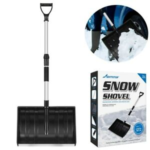 MOVTOTOP-Strain-Reducing-Snow-Shovel-Outdoor-Cleaning-Tool-Spring-Assist-Handle