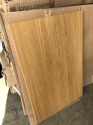 6301 B/&Q OAK STYLE SHAKER KITCHEN REPLACEMENT END CLAD ON BASE PANEL 570X720mm