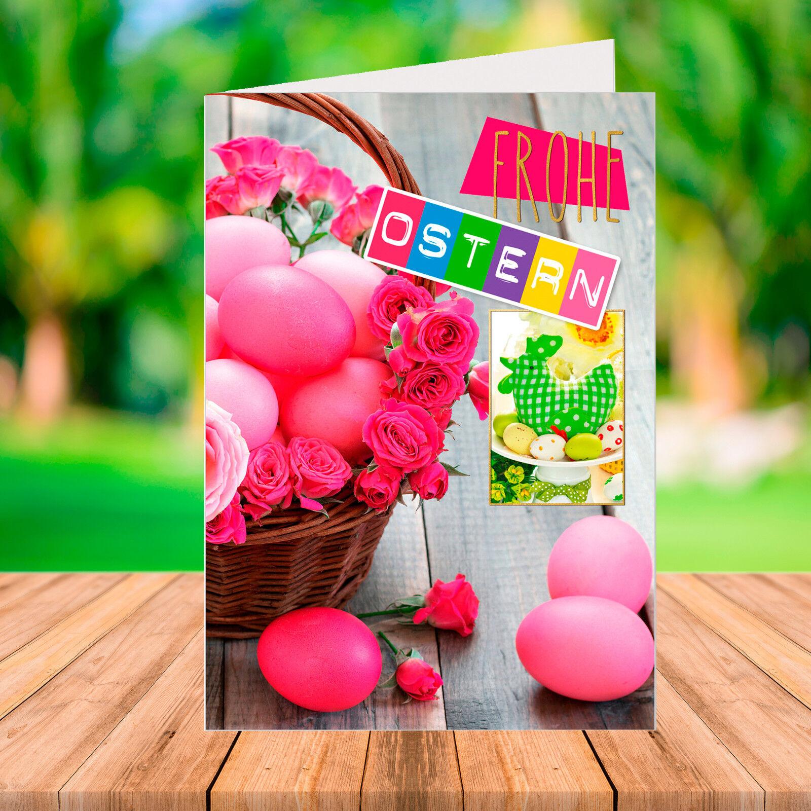 10   20   50   100 PREMIUM Osterkarte mit Umschlag - Grußkarte Ostern   | Adoptieren  | Beliebte Empfehlung