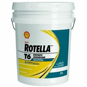 shell rotella t6 motor oil sae 5w 40 5 gal 550019886. Black Bedroom Furniture Sets. Home Design Ideas