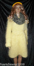 handgestrickt Strickkleid hand knitted Pullover Tunika Mohair Gr. 40 bis 44