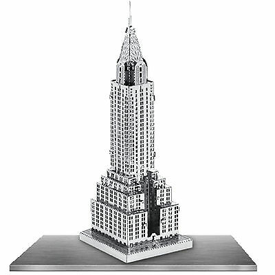 Fascinations Chrysler Building Model To Build by Metal Earth NEW