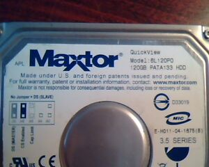 MAXTOR 6L120P0 DRIVERS FOR WINDOWS DOWNLOAD