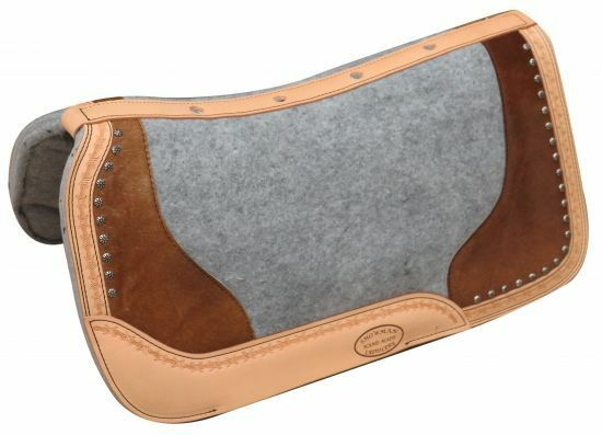Showman PONY Size Hair On Cowhide Vented & Contoured 24 x24 x1  SADDLE PAD