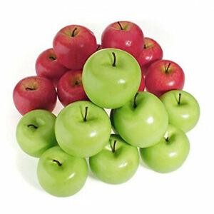 6-12pcs-Decorative-Artificial-Apple-Plastic-Fruits-Imitation-Home-Decor-Red-Hot