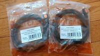 2 Piece Hdmi A/m To Rca Black 1.5m Ship From York
