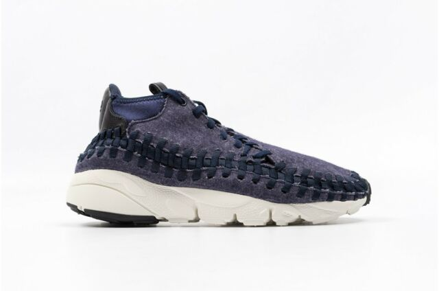 cheaper 11ef5 77964 NIKE FOOTSCAPE WOVEN CHUKKA SE Obsidian MENS 857874 400  160 NEW