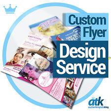 Professional Custom Flyer Design Service