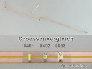 (4 €/m) HOCHFLEXIBLE Folien Streifen Platine 500x2,1mm Einseitig ODER Beidseitig
