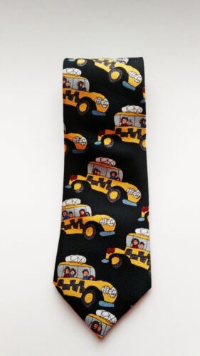 Beans McGee Happy Days Happy Taxi Tie