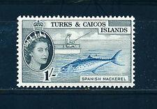 TURKS & CAICOS ISLANDS 1957-60 DEFINITIVES SG246 1s. (FISH)  MNH