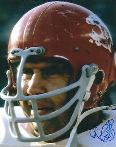 Autographed ED BUDDE Kansas City Chiefs 8x10 Photo w/COA