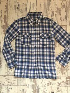 Boys-Extra-Small-Shirt-Blue-Checked