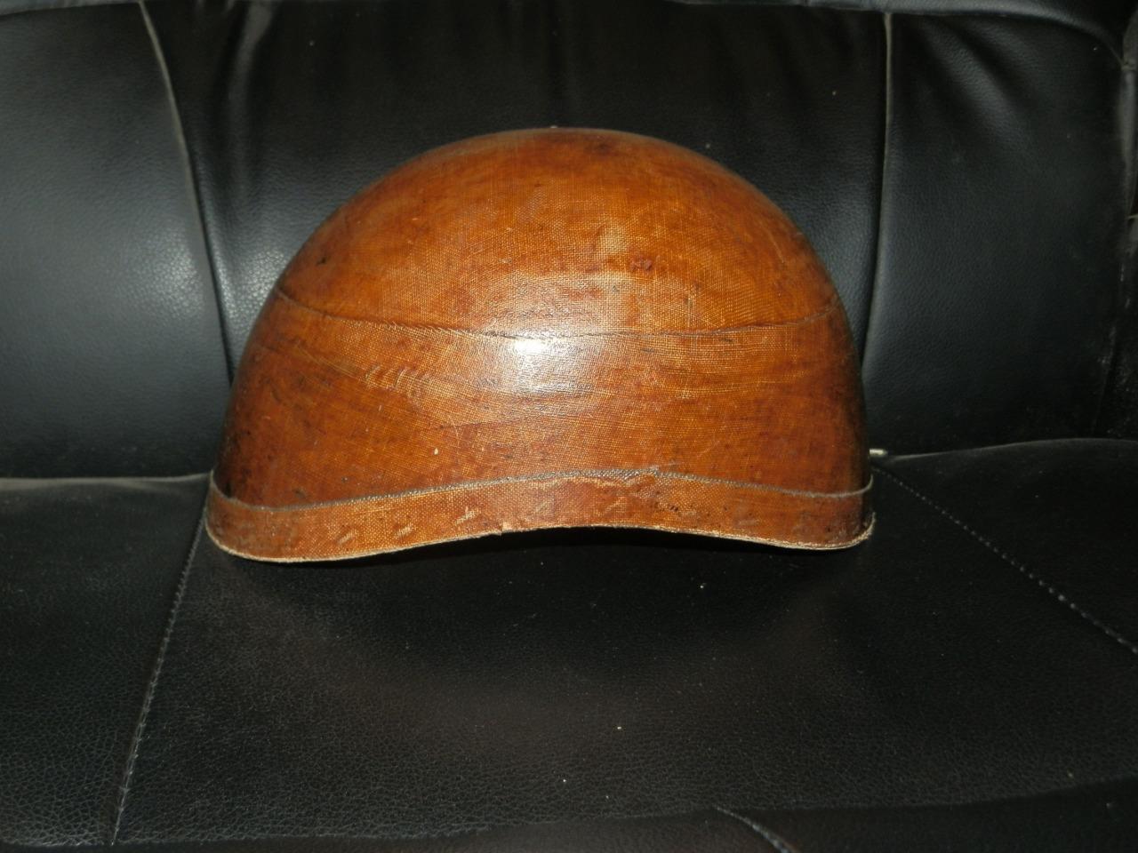 Antiguo Vintage Corcho Equitación Sombrero de Christies De Londres C -1920