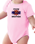 Infant creeper bodysuit One Piece t-shirt I/'m The Middle Brother k-468