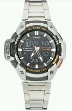 Reloj de Pulsera Casio Sport Para hombres gemelo Sensor Combi. Nueva en caja.