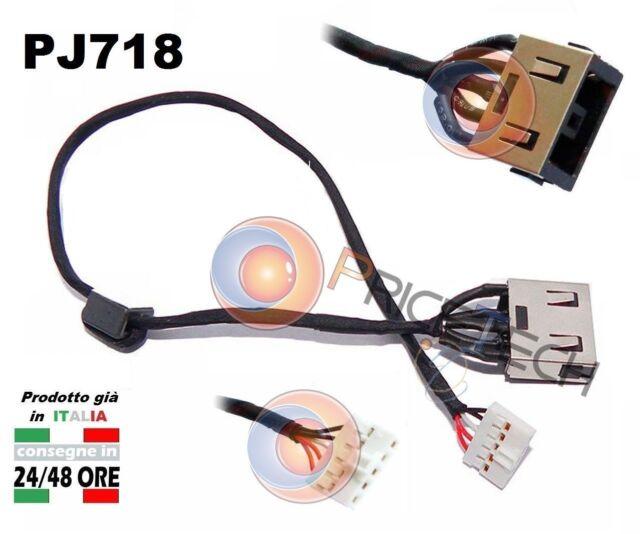 Connettore di Alimentazione DC Power Jack PJ718 LENOVO IDEAPAD G50-45