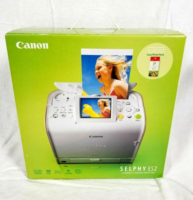 Canon SELPHY ES2 Digital Photo Thermal Printer