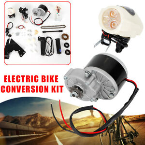 US-24V-250W-Electric-Bike-Conversion-Kit-Motor-Controller-For-22-29-034-Bicycle-HOT