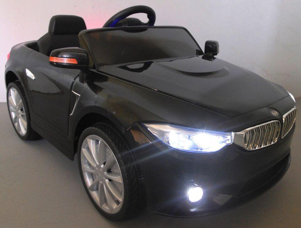 BMW B8 el-bil, fjernstyret