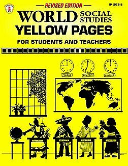 World Social Studies Yellow Pages for Students and Teachers  Kids  St