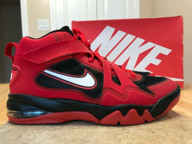 Nike Air Force Max CB 2 HYP Men's Shoes 616761 600 Red White Black size 11.5