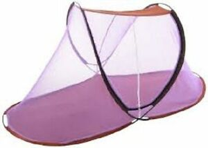 Single Bed Portable & Folding Mosquito Net-Indoor & Outdoor Use