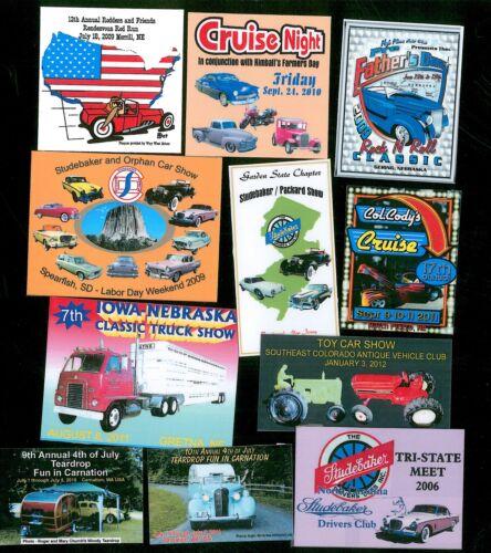 """Car Show 100 Custom 3/""""x4/"""" Full Color Dash Plaques"""