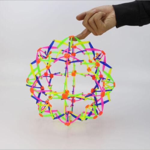 Plastique Expanding Ball Multicolore étendre Une Balle Stress Relief Jeux Enfant