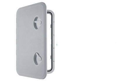 MARINE ACCESS BOAT DECK INSPECTION HATCH 353mm x 606mm WHITE motorhome yacht DX