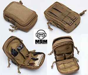 Image Is Loading Mil Spec Monkey Msm Stealth Compact Pouch Multicam